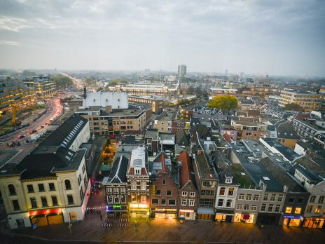 Uitzicht Utrecht vanaf TiVre 02, Anne Hamers